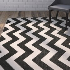 Jefferson Place Black/Beige Indoor/Outdoor Rug