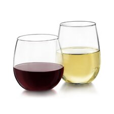 Wayfair Basics Stemless Wine Glass (Set of 12)