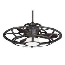 """26"""" Betty-Jo 3 Blade Outdoor Ceiling Fan with Remote"""