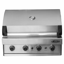 Turbo 4-Burner Built-In Gas Grill