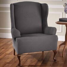 Madden Stretch Polyester Armchair Slipcover