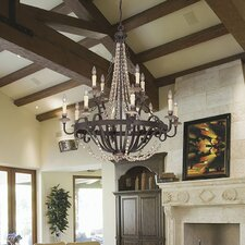 Mallory 12-Light Crystal Chandelier