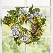 "17"" Hydrangea Wreath"