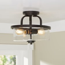 Renton 2-Light Semi Flush Mount