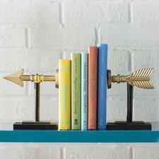 Modern Arrow Book End (Set of 2)