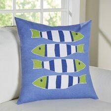 Nautical Outdoor Cotton Throw Pillow