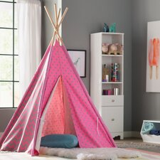 Kadin Chevron & Dots Kid Play Teepee