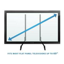 "Universal TV Stand Base Tabletop VESA Pedestal Fixed Desktop Mount 32"" -60"" LCD/LED/Plasma"