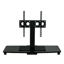 """TV Stand Universal Table Top Flat Screen Television Base Fixed Desktop Mount 32"""" -55"""" LCD/Plasma/LED with Anti-Tip Strap"""