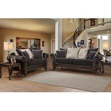Oswego Sofa and Loveseat Set