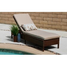 Howard Rattan Chaise Lounge