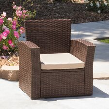 Hope Outdoor Armchair with Cushion (Set of 2)