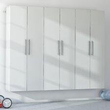 """Wayfair Basics HangUps Storage 72""""H x 90""""W x 16""""D Complete Storage System"""