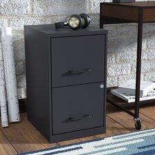 Worton 2 Drawer Vertical Filing Cabinet