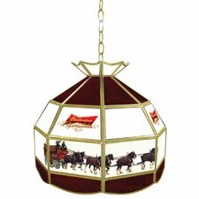 Budweiser Clydesdale Tiffany Lamp Light Fixture