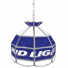 "Bud Light 16"" Budweiser Tiffany Light Fixture"