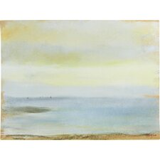 Marine Sunset by Edgar Degas Framed on Canvas