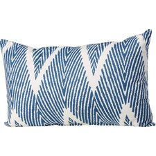 Cherita 100% Cotton Throw Pillow