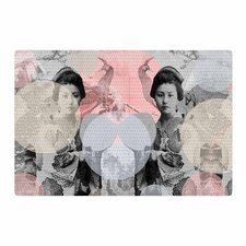 Suzanne Carter Kyoto Girl Gray/Pastel/Pink Area Rug