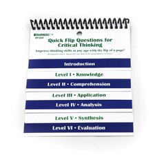 Quick Flip Critical Thinking Chart (Set of 2)