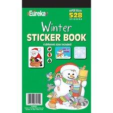 Book Winter Sticker (Set of 2)