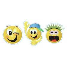 Emoticons Sticker (Set of 4)