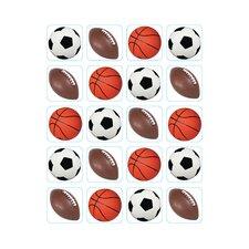 Mixed Sports Theme Sticker (Set of 4)