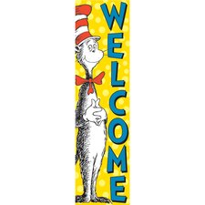 Vertical Banner Cat in The Hat Poster
