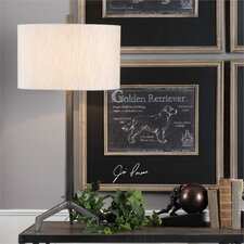 """Oliver Cast Iron 33.75"""" Table Lamp"""