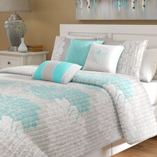 Broadwell 6 Piece Reversible Coverlet Set