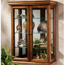 Kimberley Country Tuscan Wall-Mounted Curio Cabinet