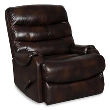 Valentine Solid Fixed Recliner with Padded Arms