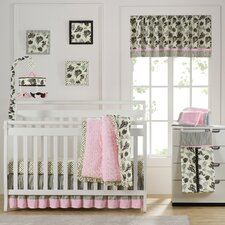Versailles Pink 10 Piece Crib Bedding Set