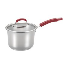3.5 Qt. Stainless Steel Saucepan with Lid