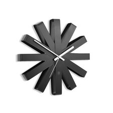 "Ribbon 12"" Wall Clock"