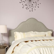 Haylee Arch Upholstered Panel Headboard