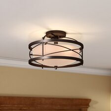 Farrier 2-Light Semi Flush Mount