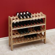 40 Bottle Floor Wine Rack