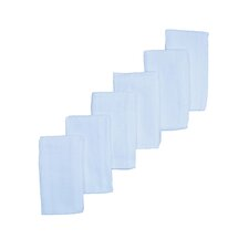 Muslin Fitted Cot Sheet (Set of 6)