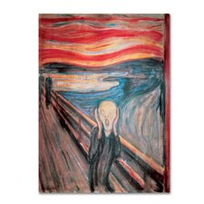 'The Scream' by Edvard Munch Print on Wrapped Canvas