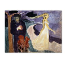 'Separation' by Edvard Munch Print on Wrapped Canvas