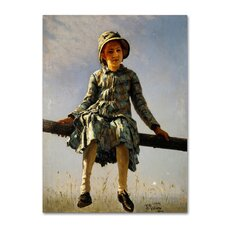 'Artists Daughter' Print on Wrapped Canvas