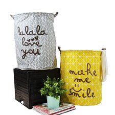 Happy Smile Laundry Basket (Set of 2)