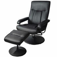 MCombo Reclining Massage Chair with Ottoman