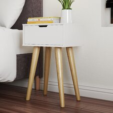 Hydra 1 Drawer Bedside Table