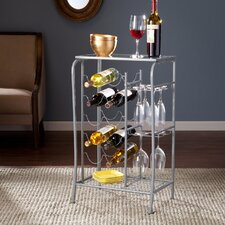 Alzado 10 Bottle Floor Wine Rack