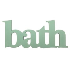 Cottage Bath Wall Décor