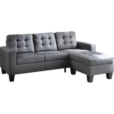 Earsom Reversible Chaise Sectional