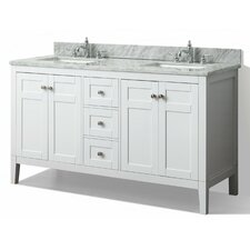 "Maili 60"" Double Bathroom Vanity Set"