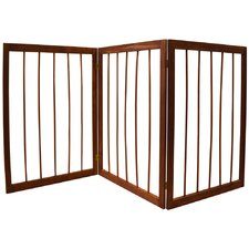 3 Section Folding Pet Gate
